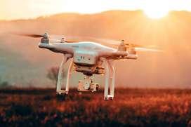 Drone camera Quadcopter with hd Camera white or black Colour  .136
