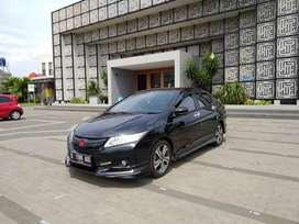 All New City Rs Automatic 2015 Black // Top Istimewa