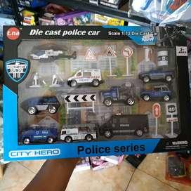 Diecast set police series