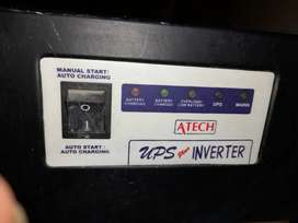 UPS/Inverter Available ATECH in mint condition