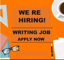 Male female workers needed for some writing job