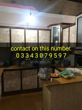 3 bed lounge leased portion at Nazimabad 3