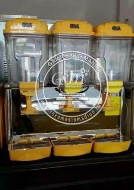 Juice dispenser 3 tabung merk GEA silahkan dijual cepat ada 2 set.