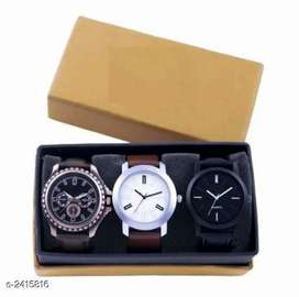 Stylish Men watches in Combo