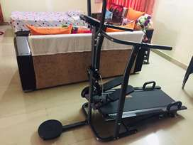 RPM Fitness Manual Multifunction Treadmill