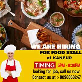 Need cook for food stall