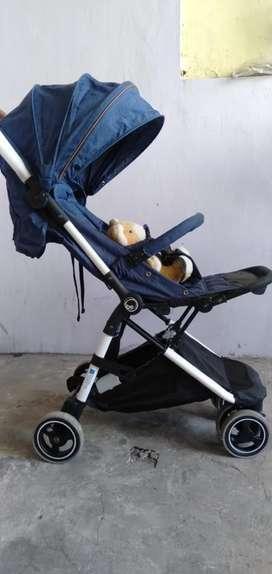 Stroller babyelle genius murah meriah cuma sebulan permakaian