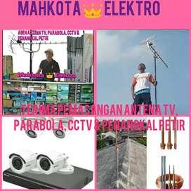 Spesialis ahli pemasangan antena tv digital Cengkareng