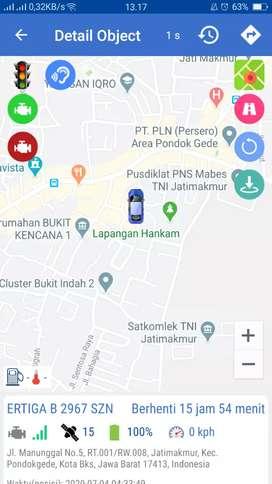 Murah..! GPS TRACKER wetrack, pengaman taxi online/ojol