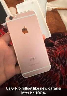 Iphone 6s 64gb bh 100%