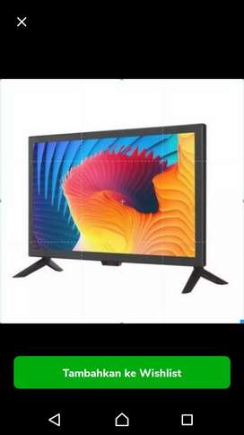 TV LED 19 INCH BAGUS BESAR