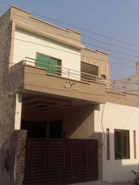 Brand new double story 4.20 mrla house for sale at khyaban naveed