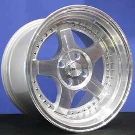 Pelek SC-02 5131 HSR Ring.15 Lebar.8-9