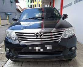 FORTUNER G LUXURY 2013 HITAM