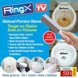 RIng X Pumice Stone Alat Pembersih Kerak/Plak WC Toilet Closet Bathtub