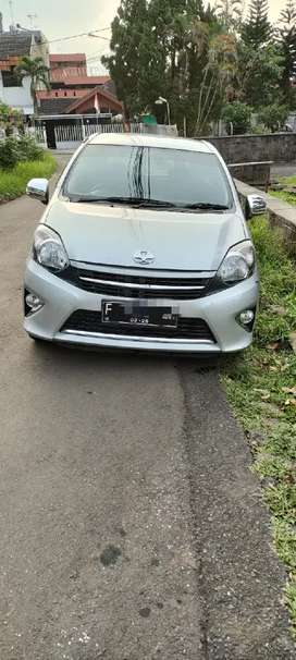 Toyota agya matic 2014