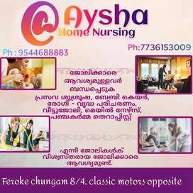 Kottayam Aysha Home Nursing Job