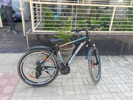 Selling bicycle in a good condition with gear