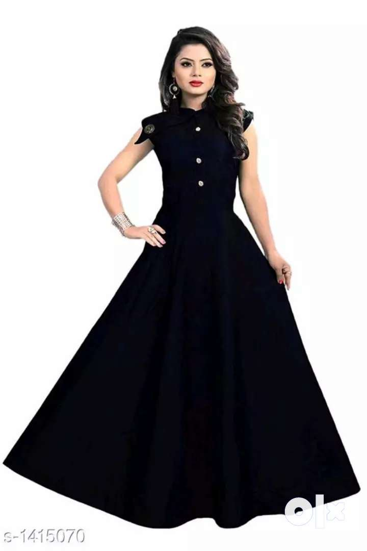 Attractive Solid Women 's Gowns 0