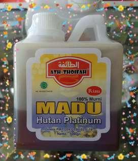 Madu Murni bersertifikat halal MUI dan uji lab