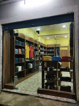Mens ready made garment shop for sale