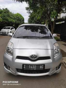 Toyota Yaris E 2012 matic