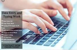 Data entry operator work from home