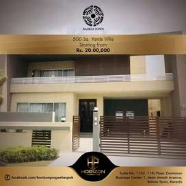 Villa on easy installment in Behria Town Karachi