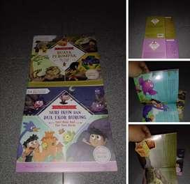 Buku Anak 34 seri cerita rakyat BIP isi full color