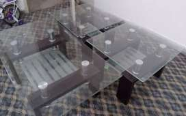 Central table  with corner table