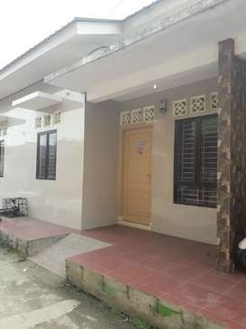 Rumah sewa lengkap utk muslim berkeluarga di jl.bajak II H  Medan.