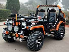 Open Jeep available in Panjab