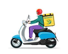 Delivery rider needed
