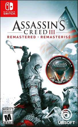 assasin creed 3 remastered switch
