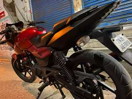 Red colour good condition pakka look 180 cc red pulsar