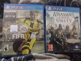 Ac unity and FIFA 17 in 1000rs