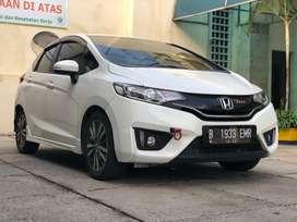 Honda Jazz GK5 1.5 RS A/T Automatic CVT 2014 Putih Mutiara