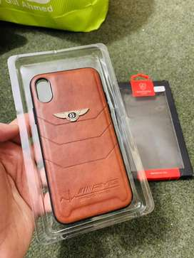Iphone X / Xs leather case / cover