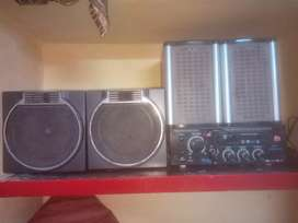 stereo amplifier with 4 sounds