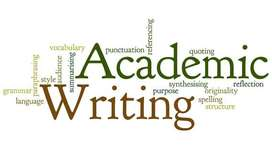 Academic writing, editing and proofreading