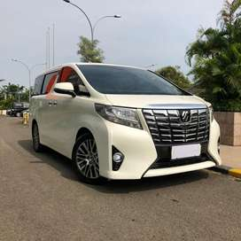 Toyota Alphard 2.5 G Atpm  2016 AT