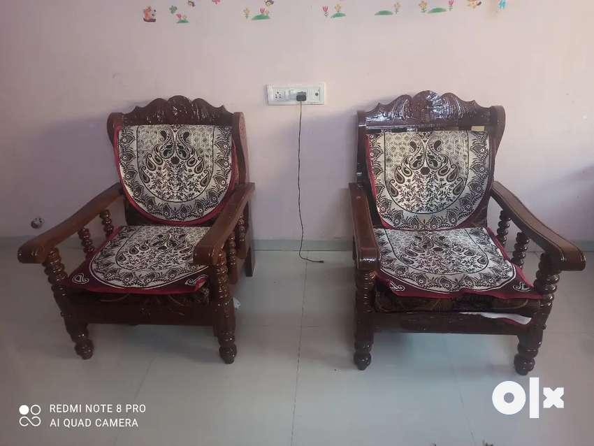 Original Sagwan Sofa set (3+1+1) 0