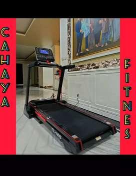 Big treadmil elektrik total tl 126 alat fitness gym promo
