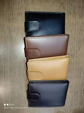 100%Genuine leather wallets