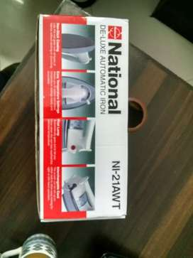 National Deluxe Automatic Iron Brand New
