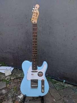 Gitar fender telecaster blue like new