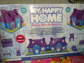 mainan anak rumah frozen home baru