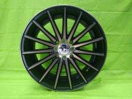 bisa kredit model 560 HSR R17X75-85 H8X100-114,3 ET42-35 BK-BRZ
