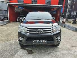 Toyota Hilux DC 2,4 4x4  V matic 2019 nik 2018 Hitam metalik siap paka