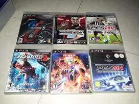 Kaset BD original ps3 berbagai judul,kondisi mulus tested normal murah